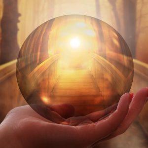 healen met het licht van het universele bewustzijn